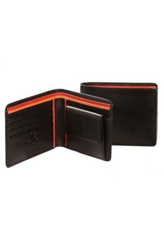 Leather Wallets in Black